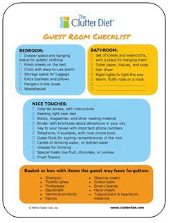 Guest Room Checklist thumbnail