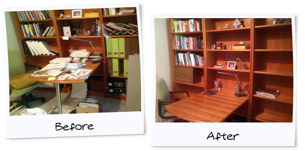 HomeOfficeBefore& After