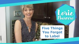 Five Things You Forgot to Label